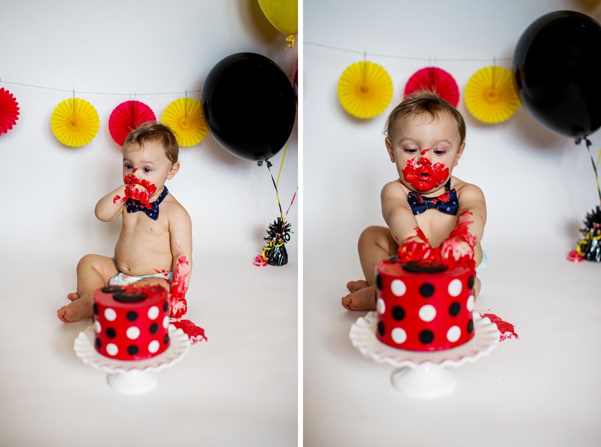 BabyLove Photography - Benjamin Cake Smash 015