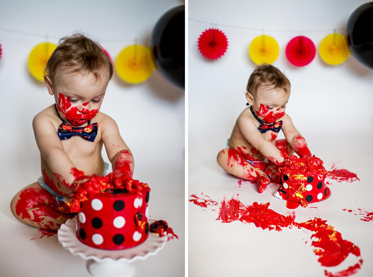 BabyLove Photography - Benjamin Cake Smash 018