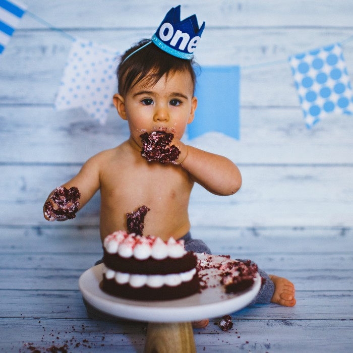 Antonio <br>• Cake Smash! •<br>