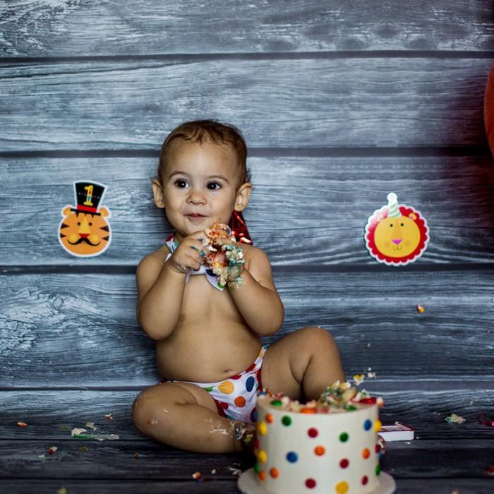 Santino <br>• Cake Smash! •