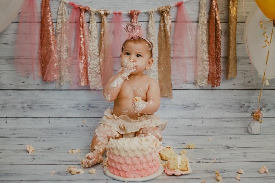 Happy First Birthday Ophelia!
