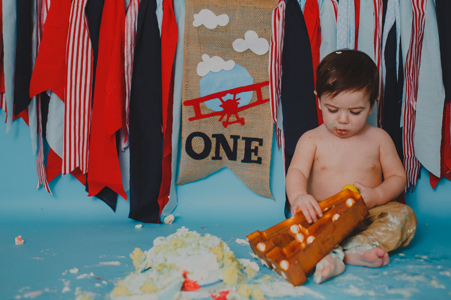 Happy First Birthday Alessandro!