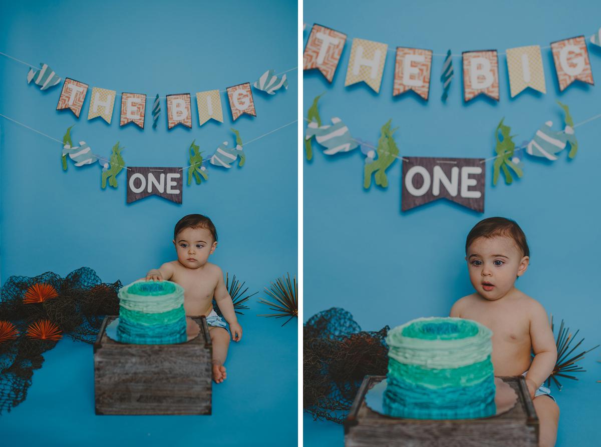 Leo Cake Smash 031b