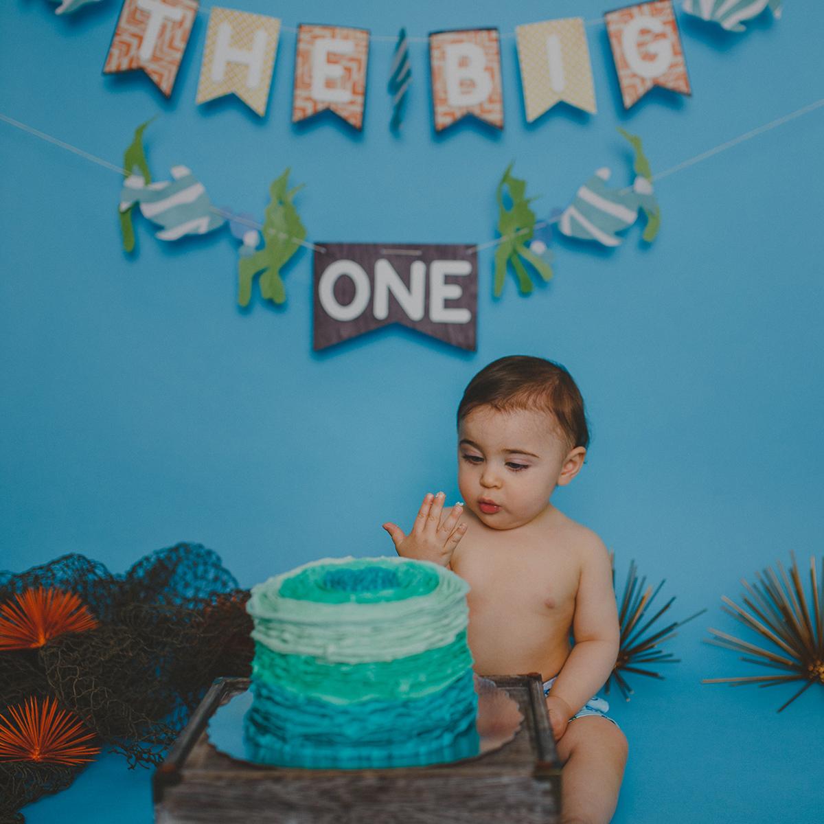 Leo Cake Smash 033