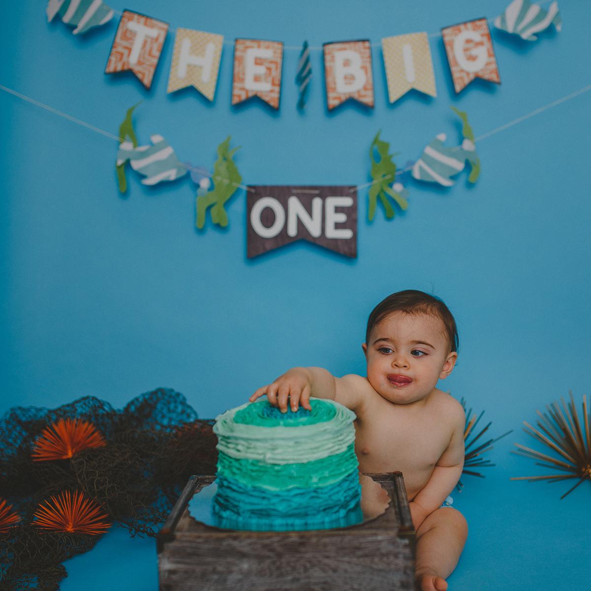 Leo Cake Smash 037