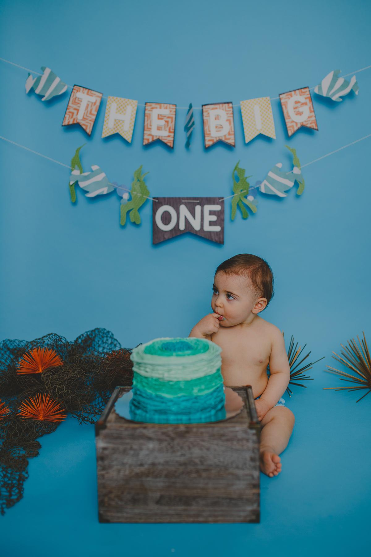 Leo Cake Smash 038