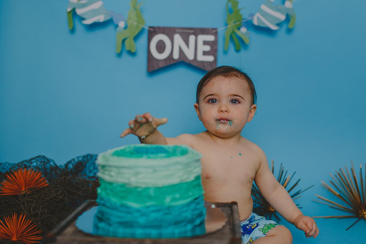 Leo Cake Smash 042