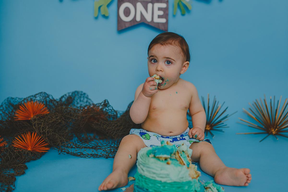 Leo Cake Smash 045
