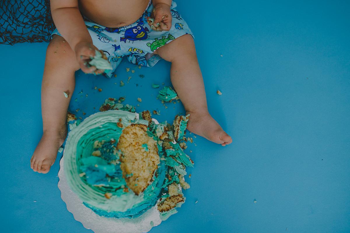 Leo Cake Smash 052