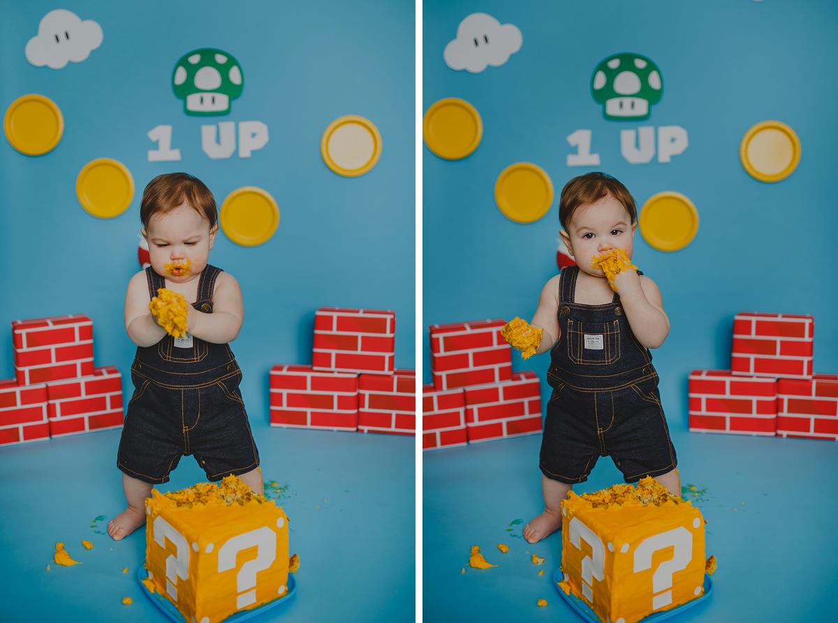 Luca - Cake Smash 047b