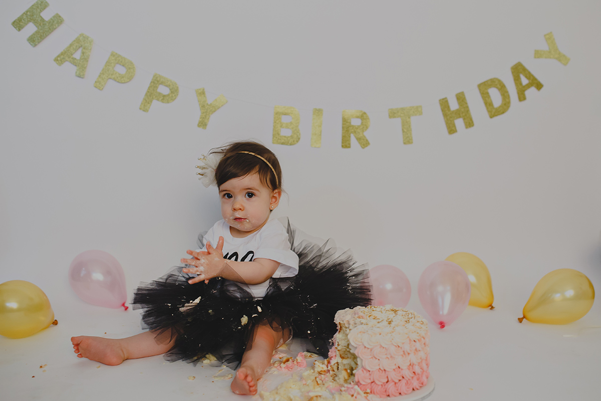 Happy First Birthday Vanessa