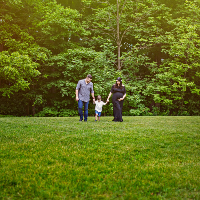 Rita + Rob + Joseph - Maternity Session